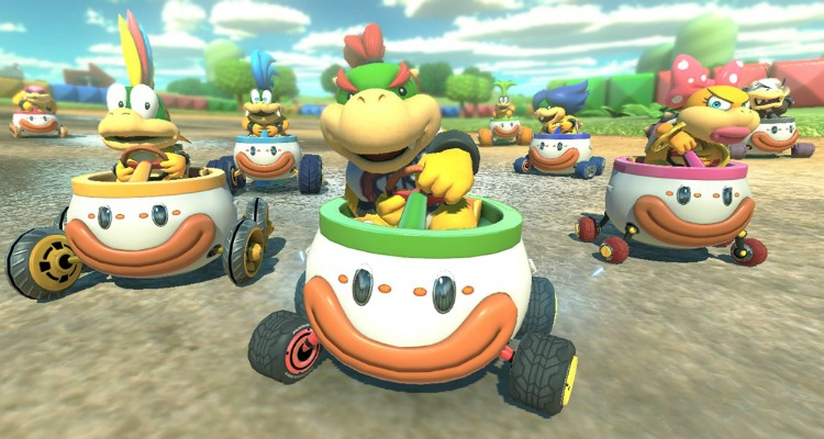 mario kart 8 deluxe, video game, racing, nintendo switch, sequel, coming soon, nintendo