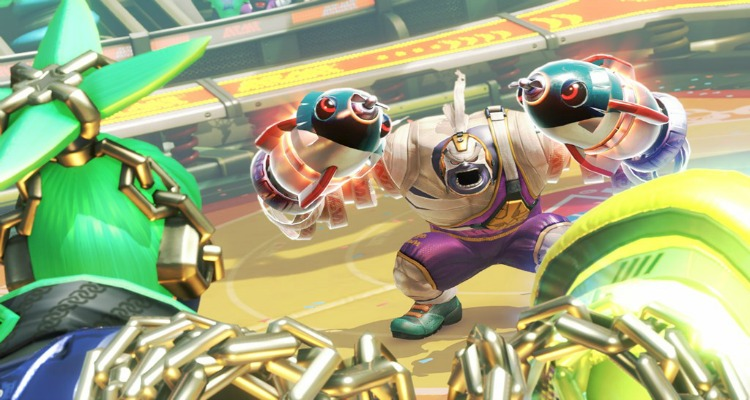 arms, video game, fighting, coming soon, nintendo switch, nintendo