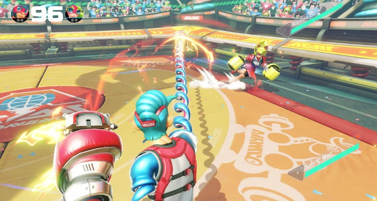 arms, video game, fighting, nintendo switch, coming soon, nintendo