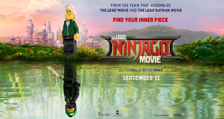 the lego ninjago movie, animated, comedy, action, martial arts, review, vertigo entertainment, warner bros pictures