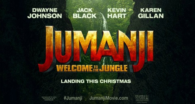jumanji, welcome to the jungle, sequel, action, adventure, fantasy, columbia pictures, review, sony pictures