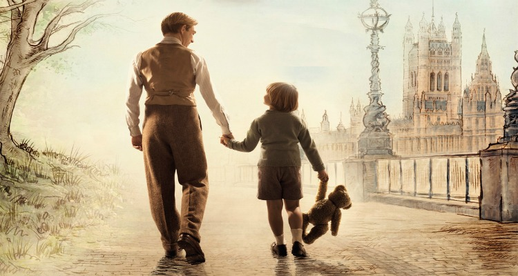 goodbye christopher robin, true story, winnie the pooh, trailer, review, fox searchlight pictures