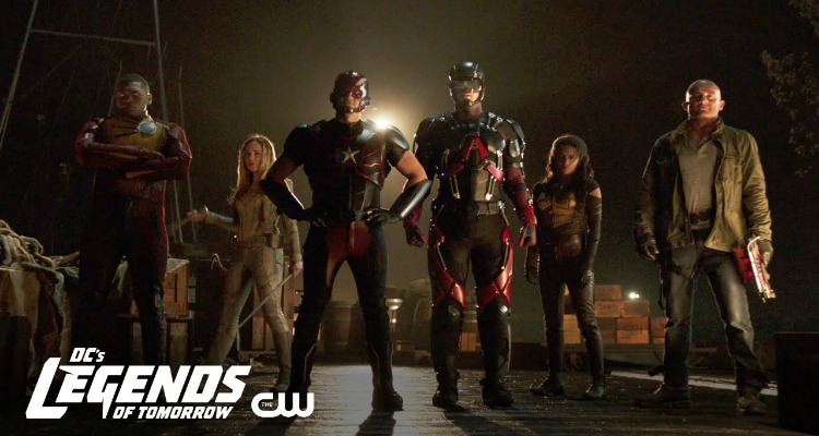 legends of tomorrow, superhero, action, adventure, season 3, comic con, trailer, review, the cw