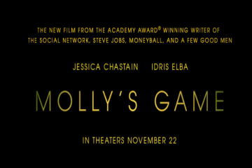 molly's game, true story, coming soon, trailer, review, stx entertainment
