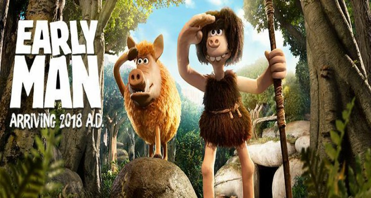 early man, animated, comedy, adventure, trailer, review, aardman animations, lionsgate