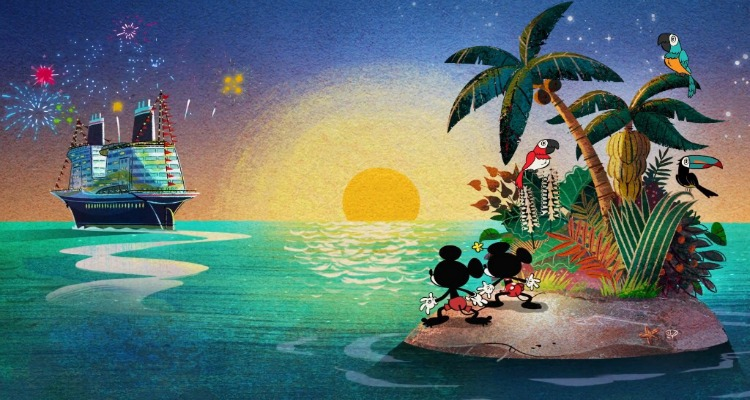 Shipped Out Takes Mickey And Minnie On A Crazy Vacation