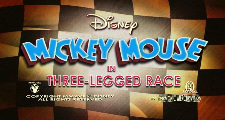 three legged race, mickey mouse, cartoon, season 4, review, disney channel