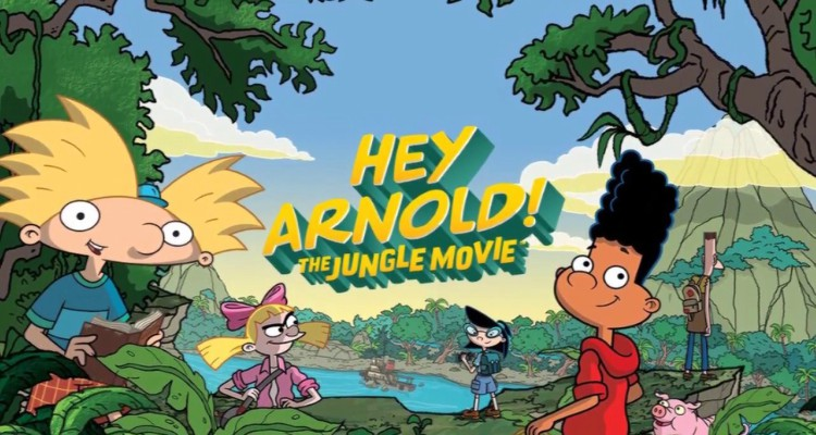 the jungle movie, hey arnold, tv show, cartoon, trailer, review, nickelodeon