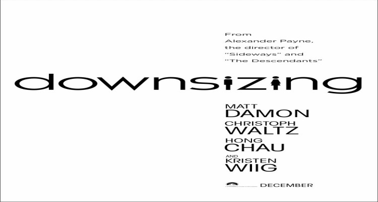 downsizing, comedy, drama, science fiction, matt damon, trailer, review, paramount pictures