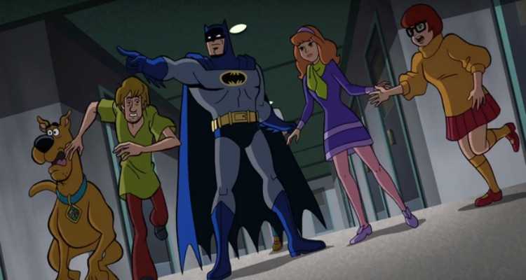 scooby doo and batman, animated, wb animation, trailer, review, warner home video