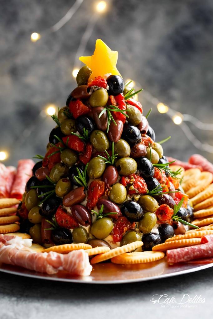 Antipasto Christmas tree