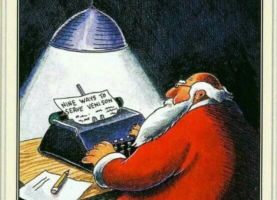 Christmas stress and food