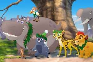 timon and pumbaa's christmas, the lion guard, tv show, animated, season 2, promo, disney junior