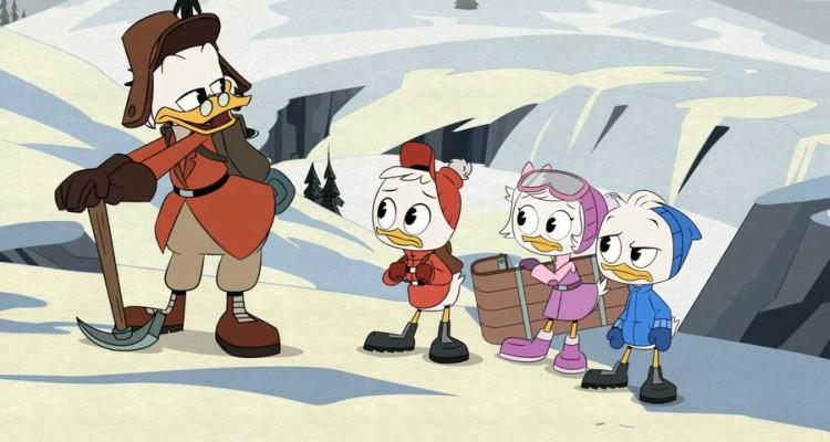 the impossible summit of mt neverrest, ducktales, cartoon, tv show, season 1, review, disney xd