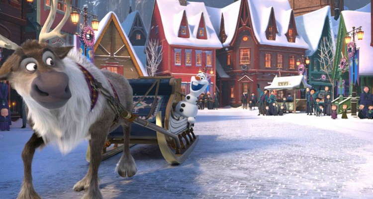 olaf's frozen adventure, frozen, musical, short, christmas, review, abc
