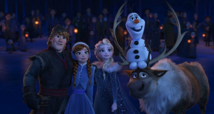 olaf's frozen adventure, musical, frozen, christmas, short, review, abc