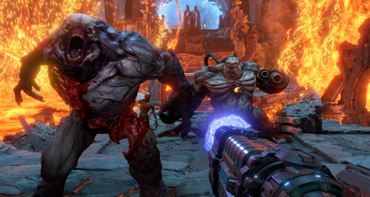 doom eternal, video game, sequel, first person, shooter, trailer, review, nintendo switch, playstation 4, xbox one, bethesda