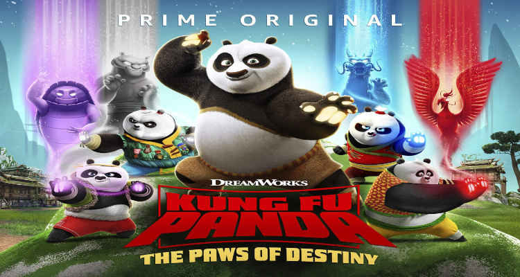 paws of destiny, kung fu panda, tv show, computer animated, action, comedy, season 2, trailer, dreamworks animation, amazon prime