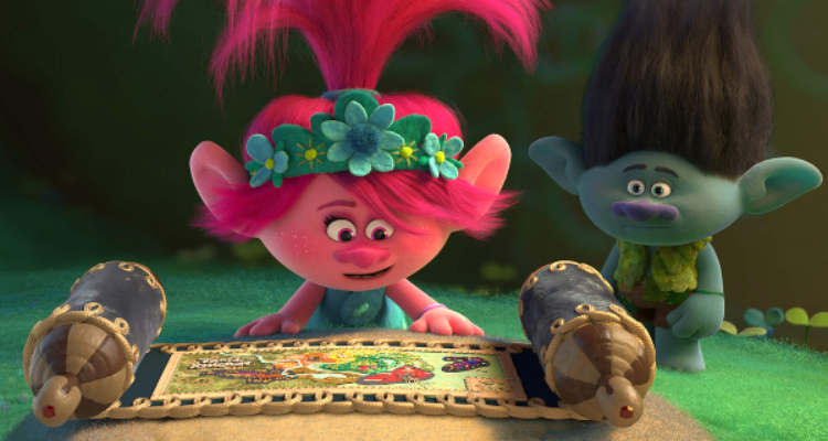 trolls world tour, sequel, computer animated, musical, comedy, anna kendrick, justin timberlake, trailer, dreamworks animation, universal pictures