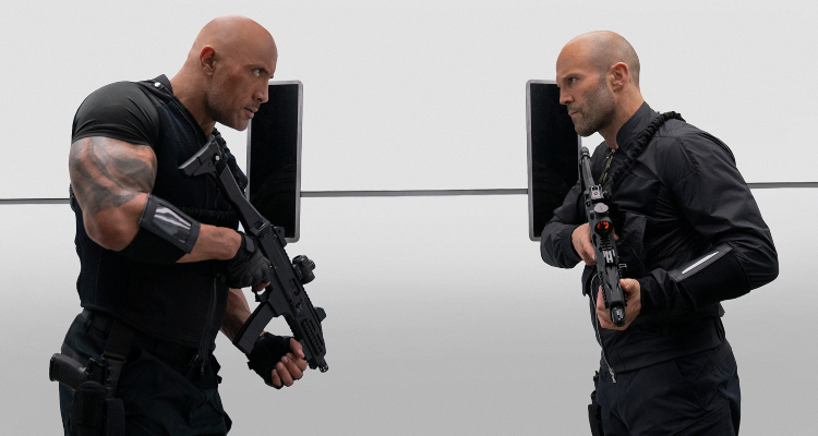 hobbs and shaw, fast and furious, spin off, dwayne johnson, jason shatham, review, universal pictures
