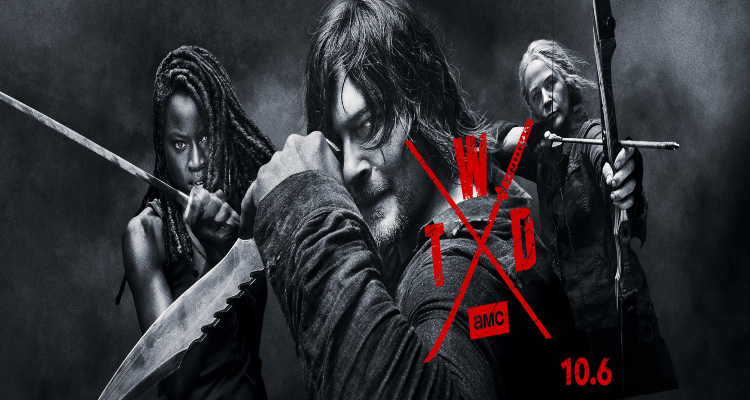 the walking dead, tv show, horor, drama, comic con, season 10, trailer, review, amc