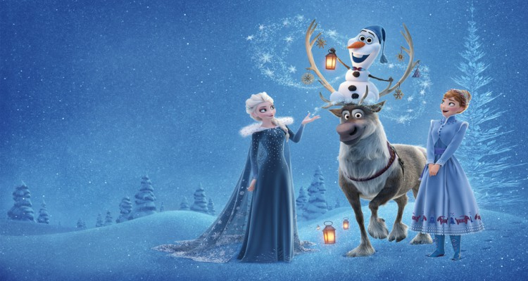 olaf's frozen adventure, computer animated, short, christmas, musical, review, abc